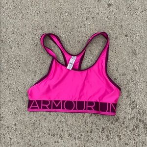 Girls under armor sports bra!